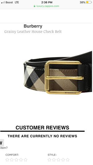 Burberry Belt Men's for Sale in Columbus, OH