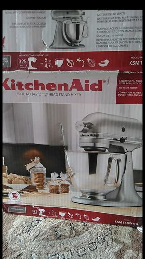 New kitchen aid $140 firm for pick up for Sale in Rancho Cucamonga, CA