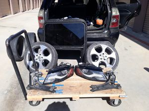Vw/ Audi parts rims are gone still have head lights sun roof and A- arms for Sale in Redlands, CA