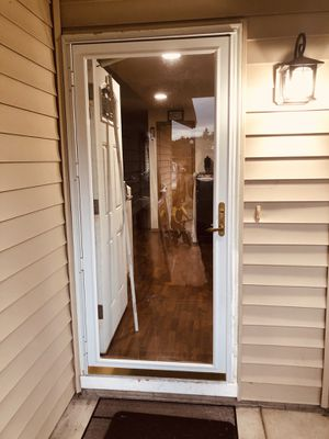 White beautiful storm door for Sale in Vancouver, WA