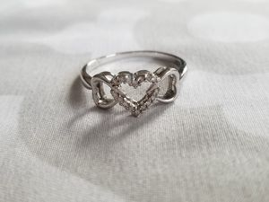 10k Diamond Trio Heart Ring for Sale in Pittsburgh, PA