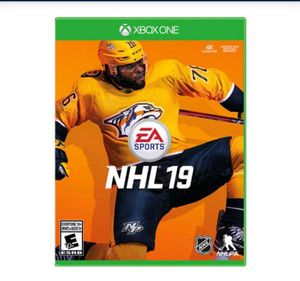 Xbox One NHL 19 for Sale in Arlington, TX