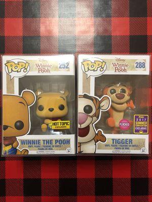 Winnie The Pooh #252 & Tigger #288 Bundle Funko POP! Disney for Sale in Milpitas, CA