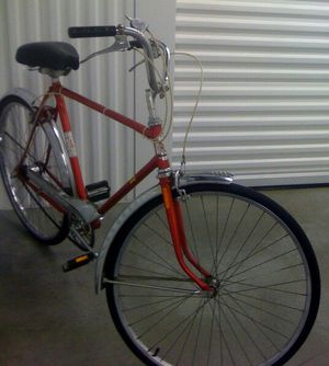 Vintage CCM Galaxie Cruiser Classic Red Bike for Sale in Norcross, GA