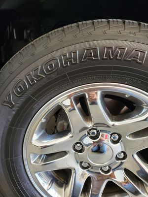 Toyota Tundra Sequoia OEM Chrome wheels tires for Sale in Riverside, CA
