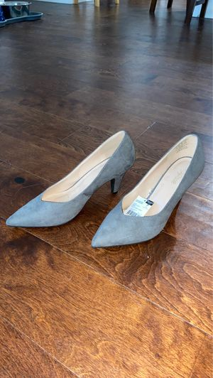 Grey felted heels for Sale in Los Angeles, CA
