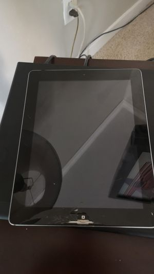 iPad no home button for parts for Sale in Moseley, VA