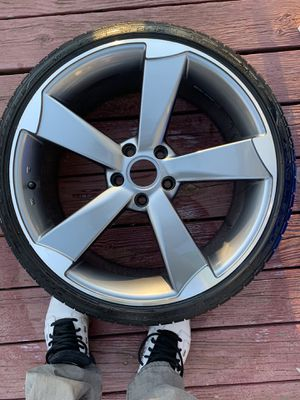 Audi S5 19 inch rims and Goodyear tires for Sale in Rockville, MD