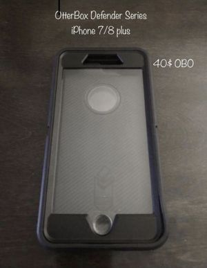 Otter Box Defender Series Case For IPhone 7/8 Plus for Sale in Palmdale, CA