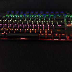 Gaming RGB Mechanical Keyboard for Sale in Long Lake, MN