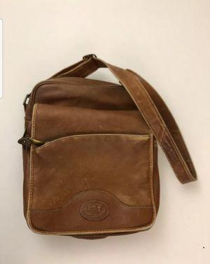 Santa Fe DILANA VTG Distressed Leather Crossbody Messenger Bag in Brown. for Sale in Lake Oswego, OR