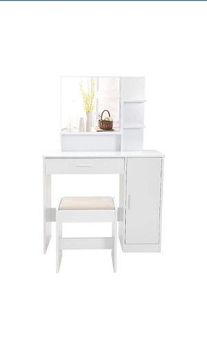White Vanity Set for Sale in Irving, TX