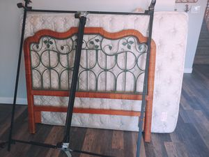 Free Queen Bed - Matress / Headboard / Frame for Sale in Phelan, CA