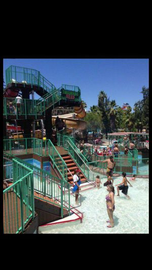 Raging water tickets full of hot fun in the sun a way to cool off with friends and family in this summer time heat for Sale in Chino, CA