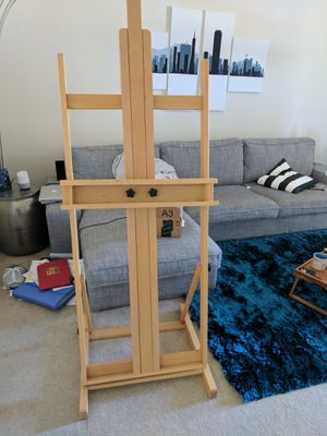 High quality H Frame easel. Full size. for Sale in San Francisco, CA