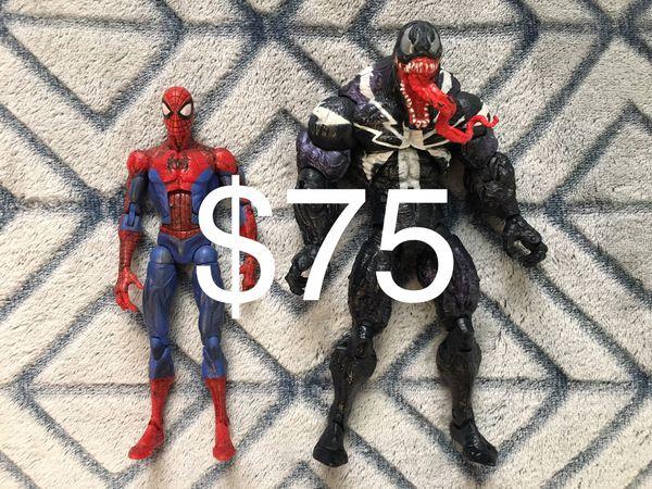 Marvel Legends lot SpiderMan & Venom