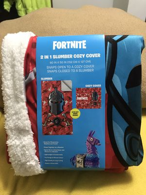 Fort nite 2 in 1 Slumber Cozy Cover for Sale in Sioux Falls, SD