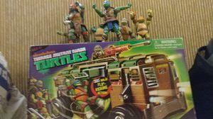 Teenage Mutant Ninja Turtles TNMNT Vehicle and action figures **Brand New** for Sale in San Jose, CA