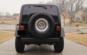 Works great 2003 Jeep Wrangler Rubicon WDWheels4 for Sale in Wichita, KS