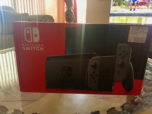 Brand new Nintendo switch about 5 hrs total gameplay! for Sale in Avondale, AZ