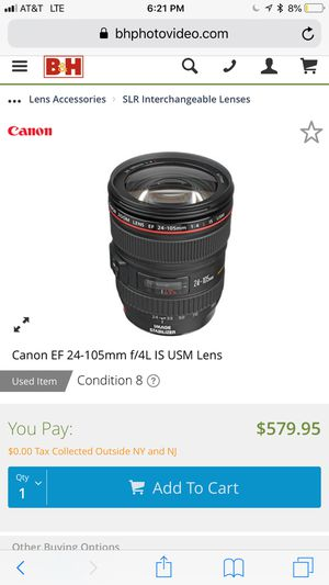 Canon cámaras and lenses for Sale in Vallejo, CA