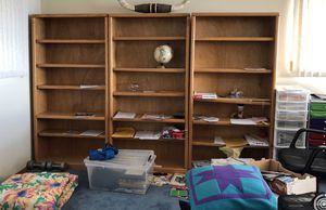 3 bookshelves for Sale in Mukilteo, WA