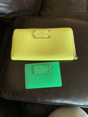 Kate spade wallet and card holder for Sale in Wilsonville, OR