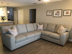 Sectional Couch -Grey for Sale in Miramar, FL