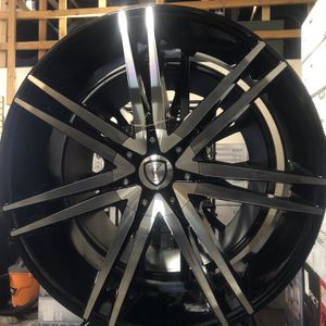 BRAND NEW Set (4) 24 Inch Rims For Only $1100!!! for Sale in Joint Base Lewis-McChord, WA