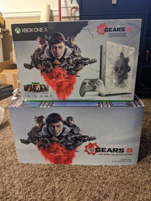 Gears of war Xbox-one X with Jack drone New in box for Sale in Puyallup, WA