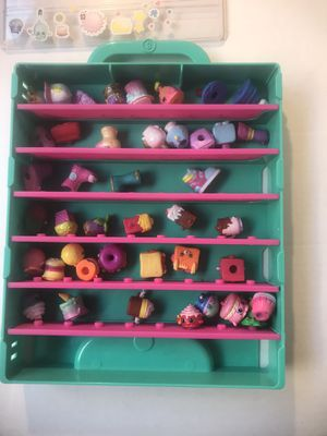 Shopkins with case for Sale in La Puente, CA