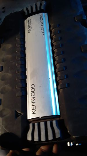 Kenwood 4/3/2 Channel power amplifier 600 watts for Sale in Imperial Beach, CA
