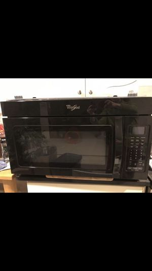 1.9 cu. ft. Capacity Steam Microwave With Sensor Cooking for Sale in Rockville, MD