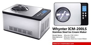 ICM-200LS Whynter 2.1 Quart Ice Cream Maker – Stainless Steel for Sale in Federal Way, WA