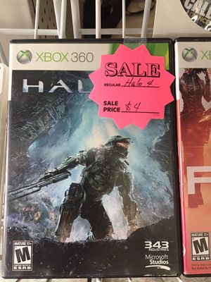 Halo 4 $4 (Rj Cash Pawnshop 2505 Nw 183rd St) for Sale in Miami Gardens, FL