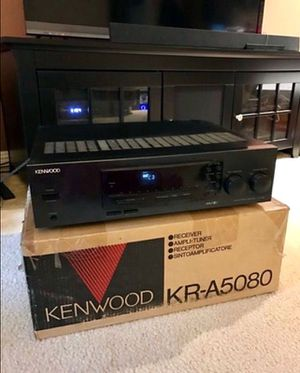 Kenwood Receiver KR-A5080 Amp-Tuner in original box for Sale in South San Francisco, CA