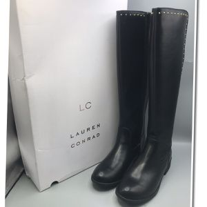 Lauren Conrad Women's Tall Black Riding Boots for Sale in Tinton Falls, NJ