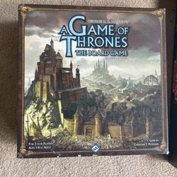 A Game Of Thrones The Board Game for Sale in Seattle,  WA