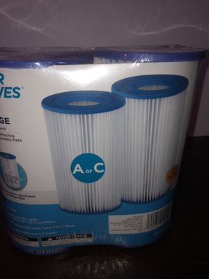 2 Pack TYPE A or C Pool Replacement Filter Cartridge for Sale in Oakland, CA