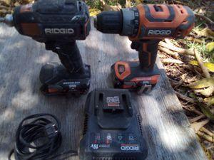 Ridgid drill set for Sale in Ocean Ridge, FL