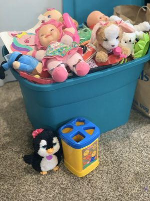 Huge box of toys for Sale in Vancouver, WA