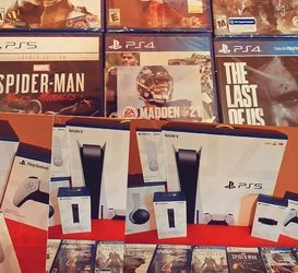 PlayStation 5 New Never Opened PS5 +6 Games for Sale in Parkersburg,  WV