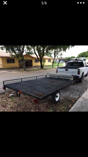 Utility trailer 7X10 // With A Tool Box for Sale in Miami, FL