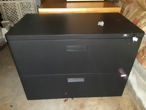 Aluminum filing cabinet with key for Sale in Marietta, GA