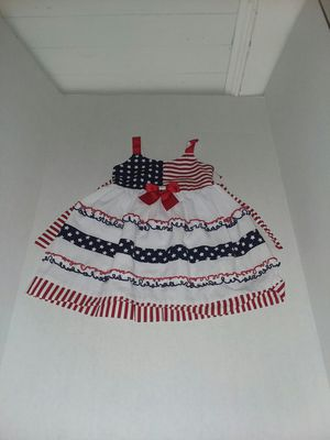 Bonnie's Baby American Flag Dress for Sale in Swainsboro, GA