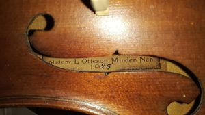 Vintage 1925 German violin in exceptional condition for Sale in Lebanon, TN