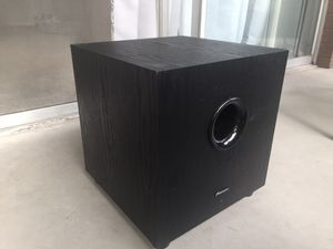 Pioneer Subwoofer (never been used!) for Sale in Denver, CO