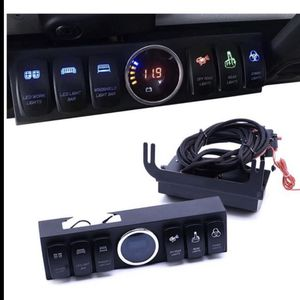 6 switch control panel box for Jeep Wrangler led light bar for Sale in San Leandro, CA