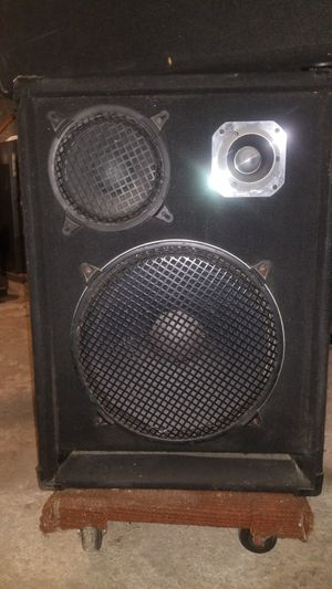 Club / dj speakers and amplifier for Sale in White Plains, NY