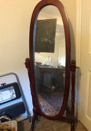 Full length adjustable mirror for Sale in Lakeland, FL